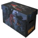 Comic Book Cardboard Storage Box with Hellboy Artwork, holds 150-175 Comics